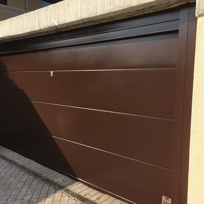 puerta garaje acabada