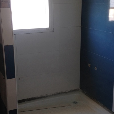 Finalización de azulejos