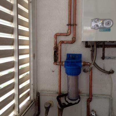 Filtro agua sedimentos