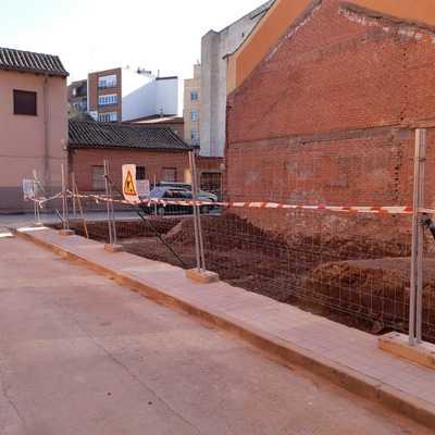 Finalización de un derribo en Alcalá de Henares
