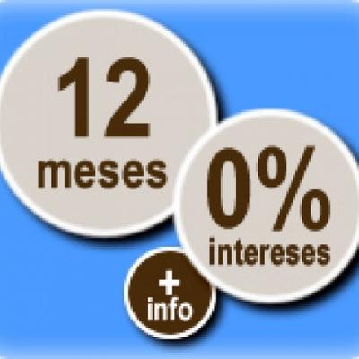 Financiación 12 meses sin intereses