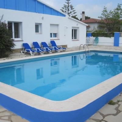 Pintura y arreglo piscina