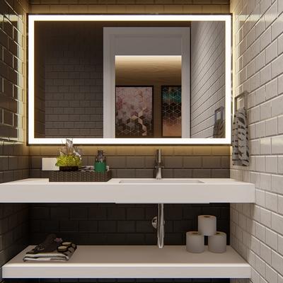 Diseño baño oficinas Shades Vista 2