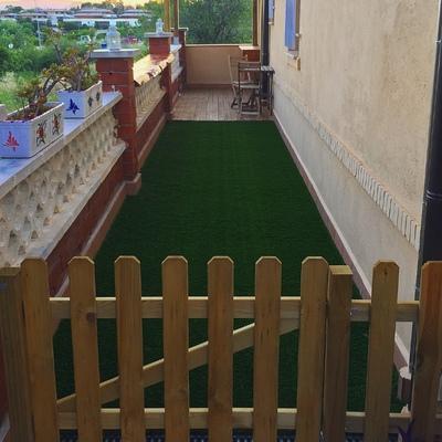 Producción de terraza
