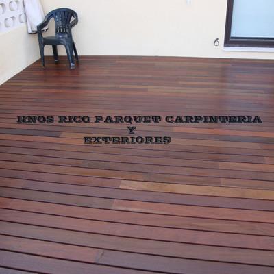 Instalacion madera ipe terraza HNOS RICO