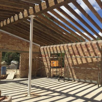 Construcción cubierta