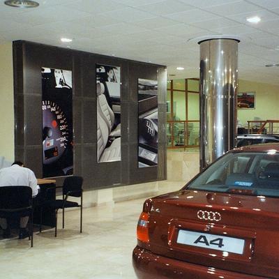 Exposición marca Audi