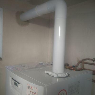 Salida de gases de caldera