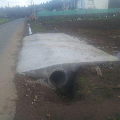 Construcción de rampa de hormigón