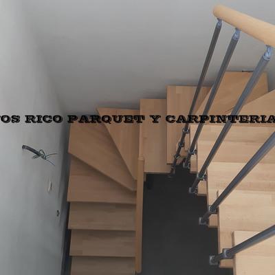 Montaje escalera u tramos compensados HNOS RICO