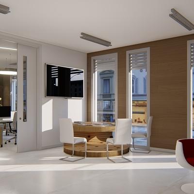 Diseño oficinas Shades área de trabajo