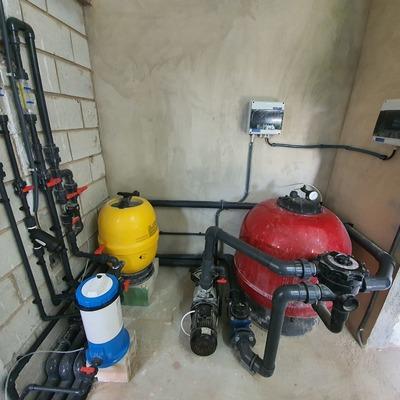Trabajos de fontanería en general