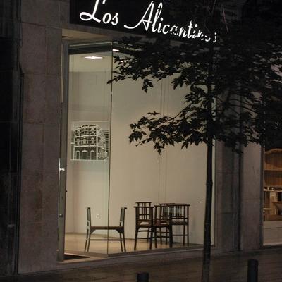 Heladería Los Alicantinos, año 2003