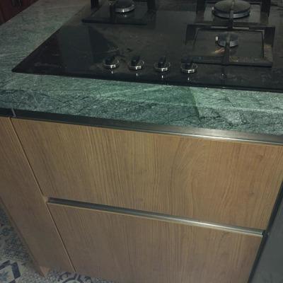 cocina de piedra granito