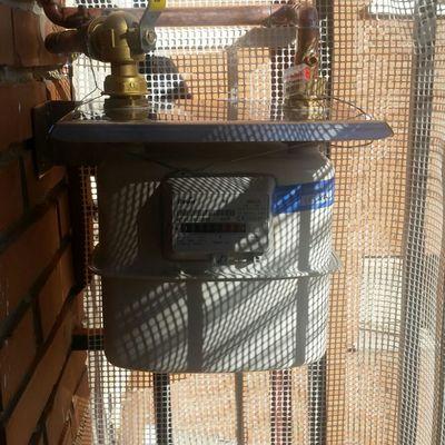 Contador con soporte acero inox