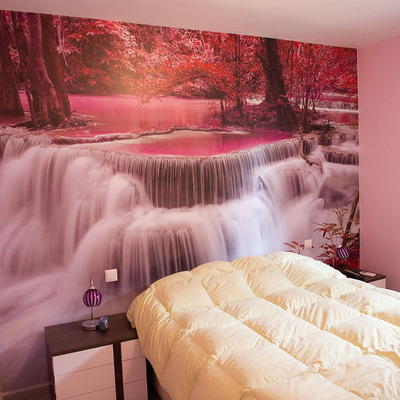 Foto mural dormitorio juvenil. Cascada