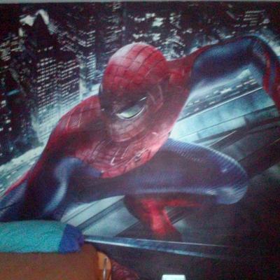 foto mural en dormitorio