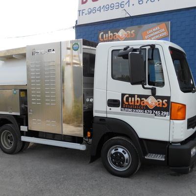 Camión cuba 2 - Camión cisterna de Cubacas