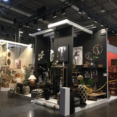 Stand Feria Nord Paris. Stand para Maison and objets, J-line