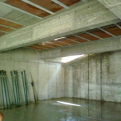 Detalle garaje terminado