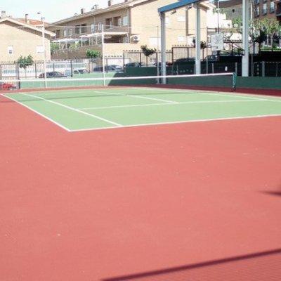 pista de tenis en Collado Villalba