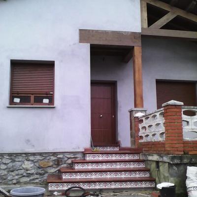 nueva construcción casa rustica