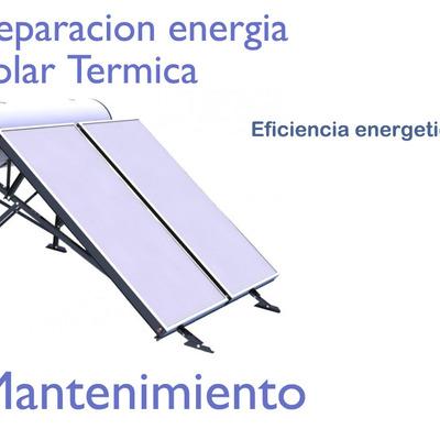 Mantenimiento de Energia solar termica