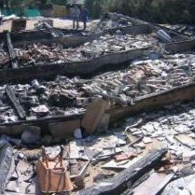 Incendio en Robledo