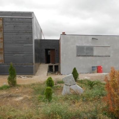 edificación minimalista