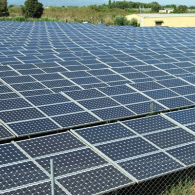 Instalación parque solar