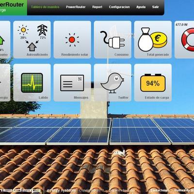 Fotovoltaica con baterías
