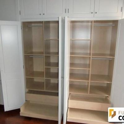 Frente armario e interior