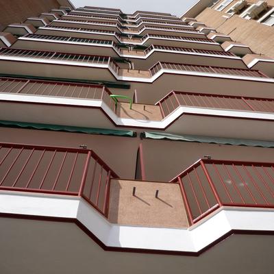 Frente de balcones