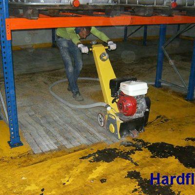 fresado para instalar pavimento continuo