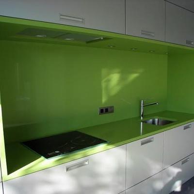 Frontal verde