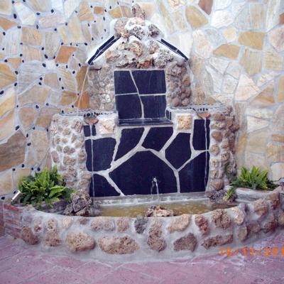 fuente piedras naturales