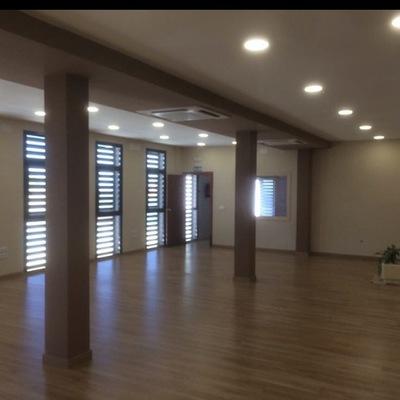 interior reforma casa de la cultura de Jabalquinto