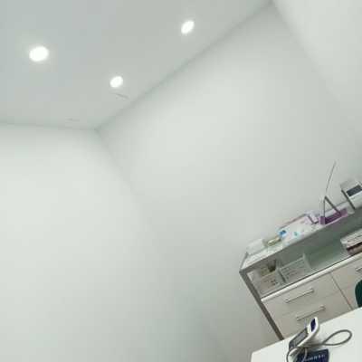 Pintura completa oficinas post trabajo de pladur