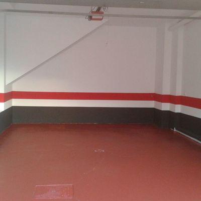 Pintado suelo garaje