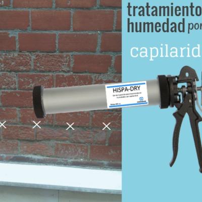 Gel para paredes antihumedad HISPA-DRY