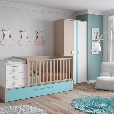 dormitorio infantil convertible