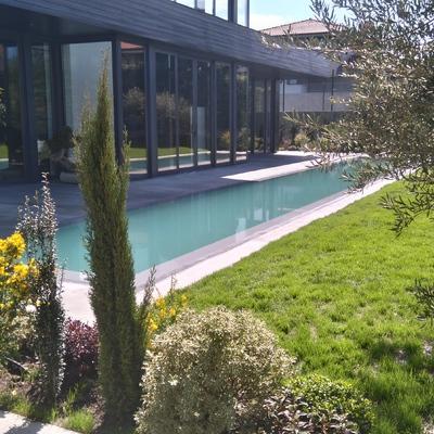 La piscina de Gorka y Eugenia