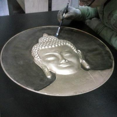 GRABADO EN 3D DE MUJER INDIA