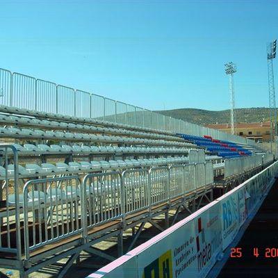 Graderío Campo Futbol Cortegana