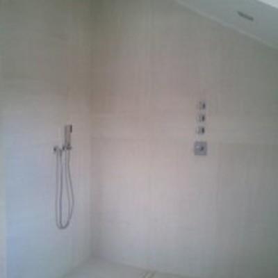 Grifería de ducha empotrada