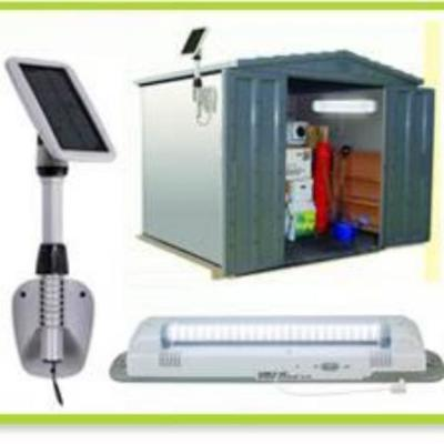 Lámpara Solar de Cobertizo