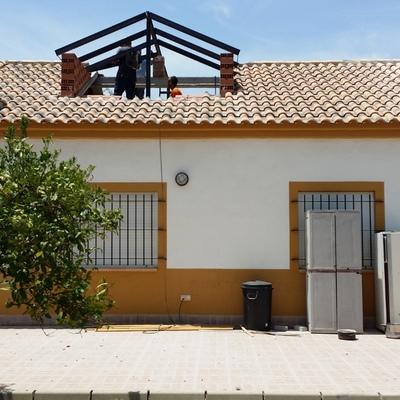 buhardilla en el tejado