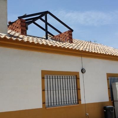 buhardilla y ampliación de casa