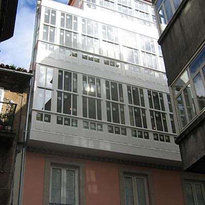 Fahada rehabilitación Edificio