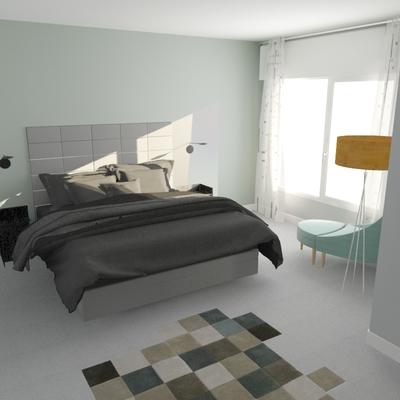 Dormitorio Proyecto Paseo de la Castellana